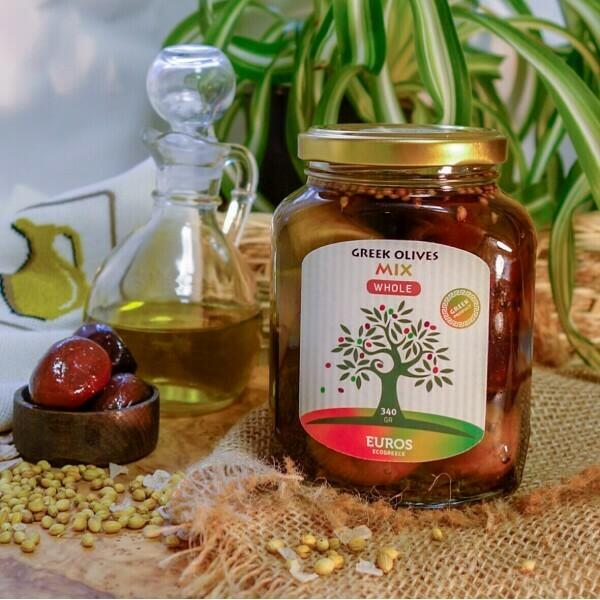 МИКС  в оливковом масле Extra Virgin (ст/б 200гр/140гр)