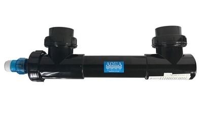 "AquaUltraviolet Classic Inline UV Sterilizer 57 Watt 3/4"" Socket Black"