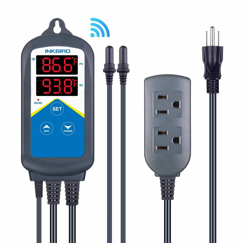 InkBird: Plug-n-Play Smart Wi-Fi Temperature Controller (ITC-306A)