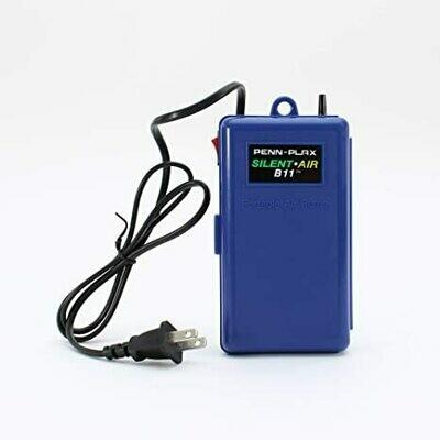 Penn Plax: Silent Air Battery Operated Air Pump