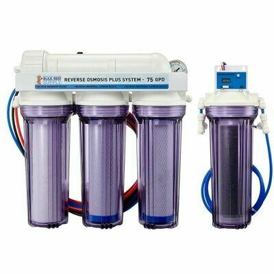 Bulk Reef Supply: 5 Stage Premium Plus 75 GPD RO/DI System