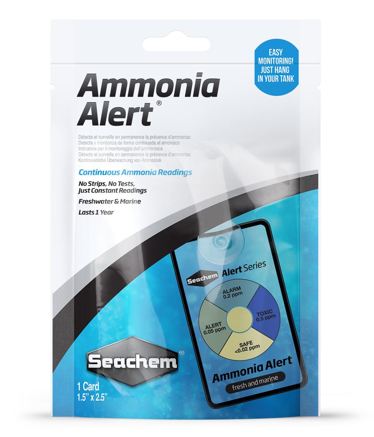 Ammonia Alert, Continuous Ammonia Readings