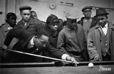 New MLK Pool Table Poster