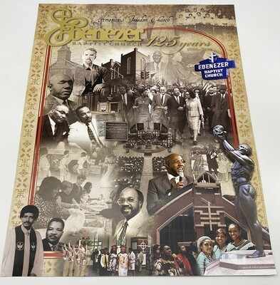125 Year EBC Poster - Signed