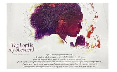 The Lord is My Shepherd Poster