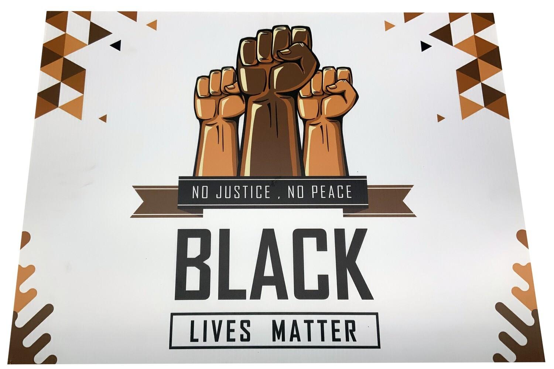 Black Lives Matter (fist)