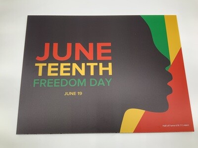 Juneteenth FreedomDay Faces red/blk/green