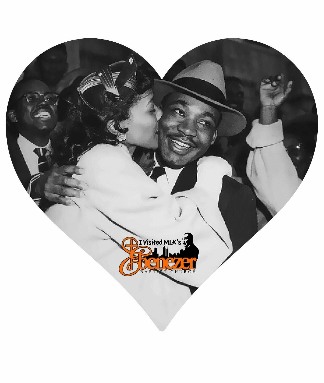 MLK & Coretta Fan