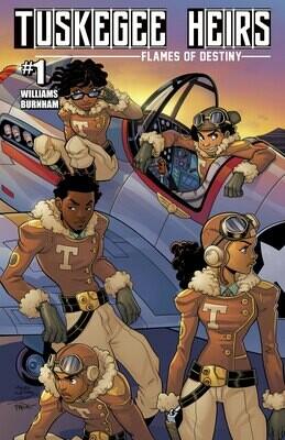Tuskegee Heirs Comic Books
