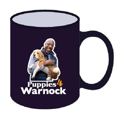 Warnock 'Puppies' Mug
