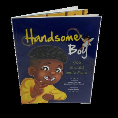 'Handsome Boy, You Should Smile More' Book