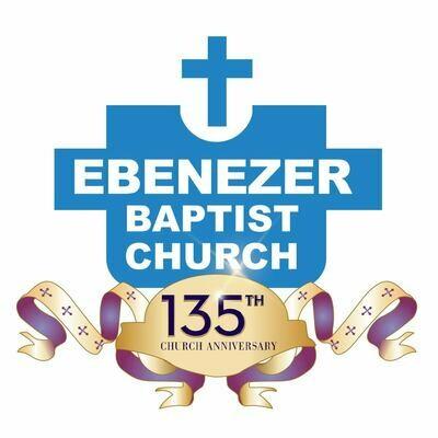 "Historic Logo - 135th Church Anniversary - Custom 4"" x 3.74"" Die cut Stickers"