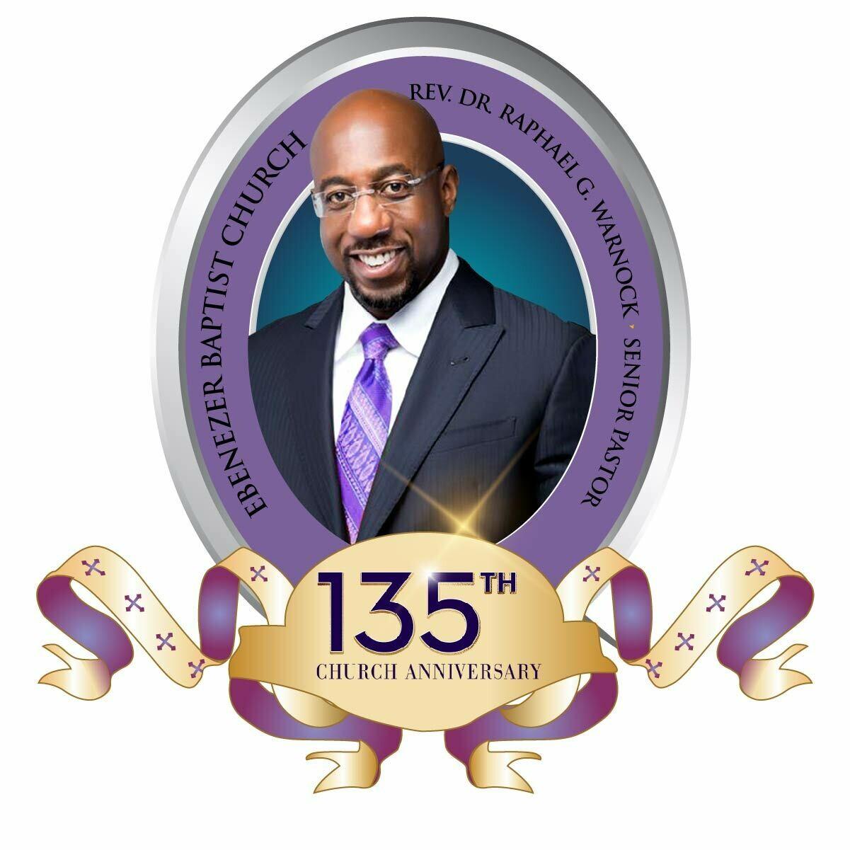 "Warnock 135th Church Anniversary - Custom 4"" x 4"" Custom Magnets"