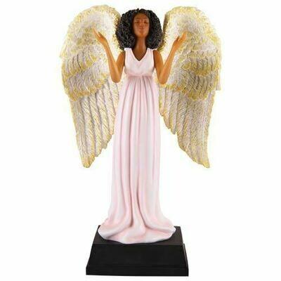 PINK ANGEL FIGURINE FAN-04