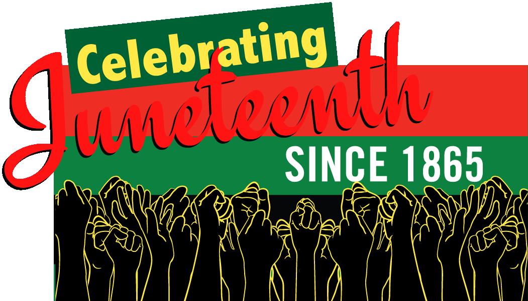 Celebrating Juneteenth Sticker