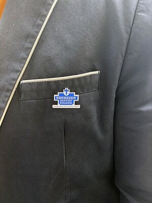 EBC Historic Sign - Lapel Pin