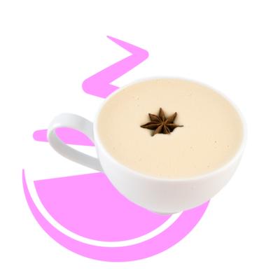 Red Vanilla Latte