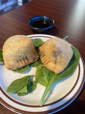 1. Vegetable Samosas- 2 pieces