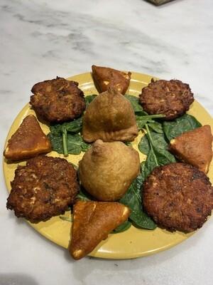 8. Vegetable Assorted Snacks