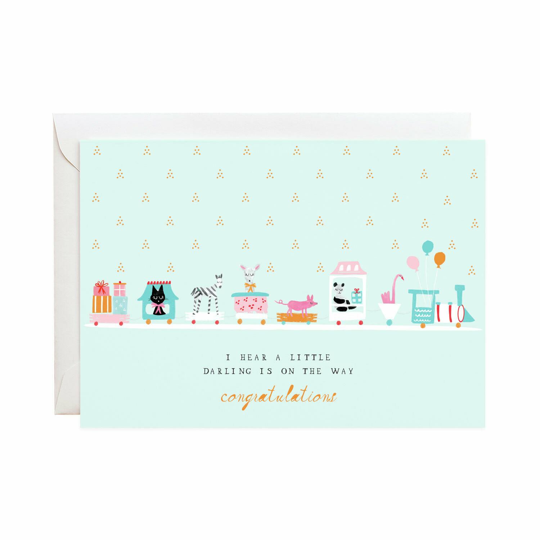 Greeting Card - Choo Choo Train