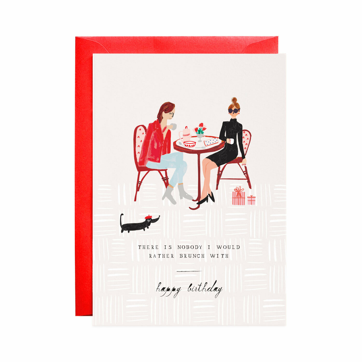 Greeting Card - Another Latte for the Birthday Girl