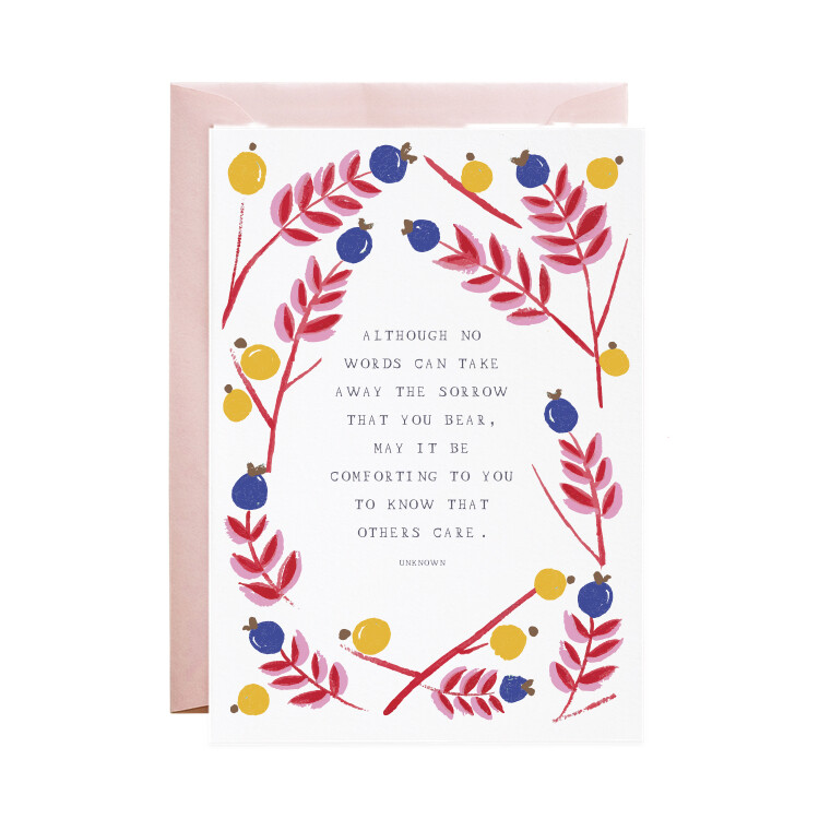 Greeting Card - I am with You
