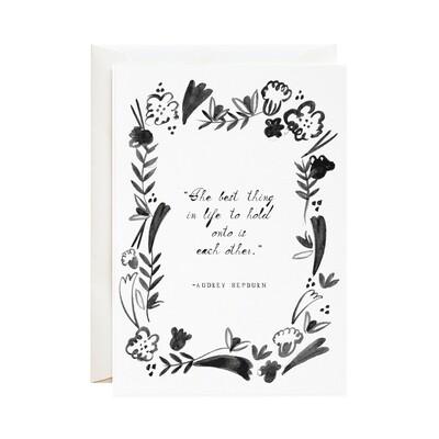 Greeting Card - Audrey's Advice