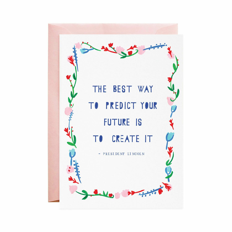 Greeting Card - Predict the Future