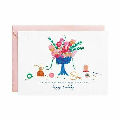 Greeting Card - The Florist Called