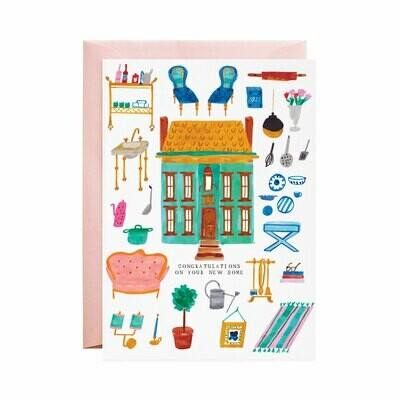 Greeting Card - We Bought a Dollhouse!