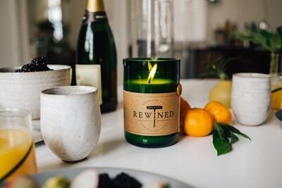 Rewined Candle - Mimosa