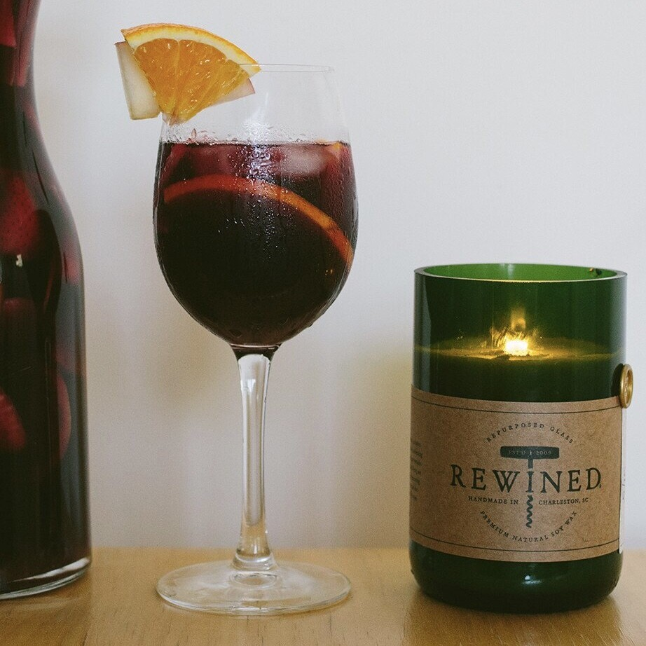 Rewined Candle - Sangria