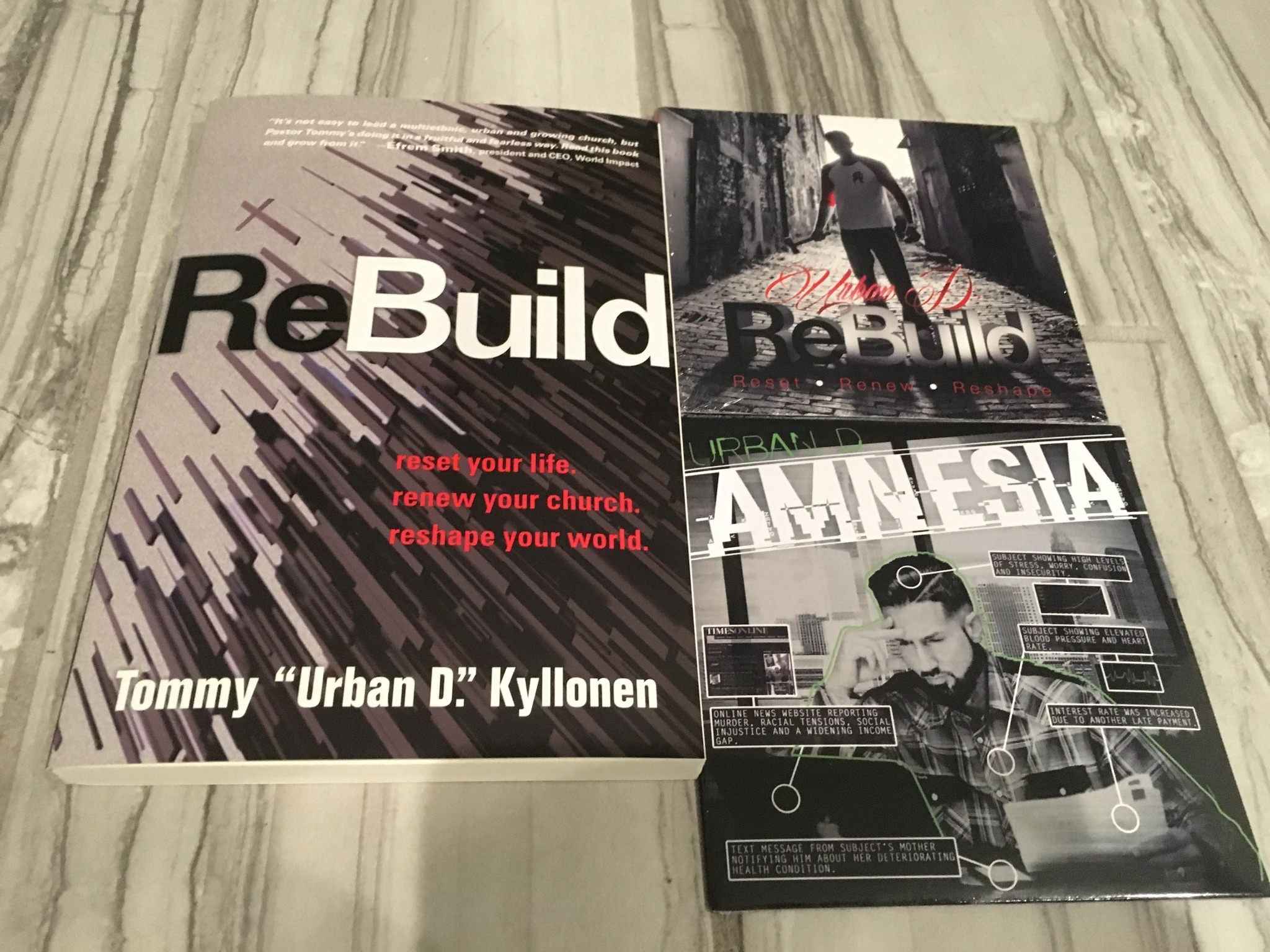 ReBuild Combo Package (Book, CD, EP) 20009