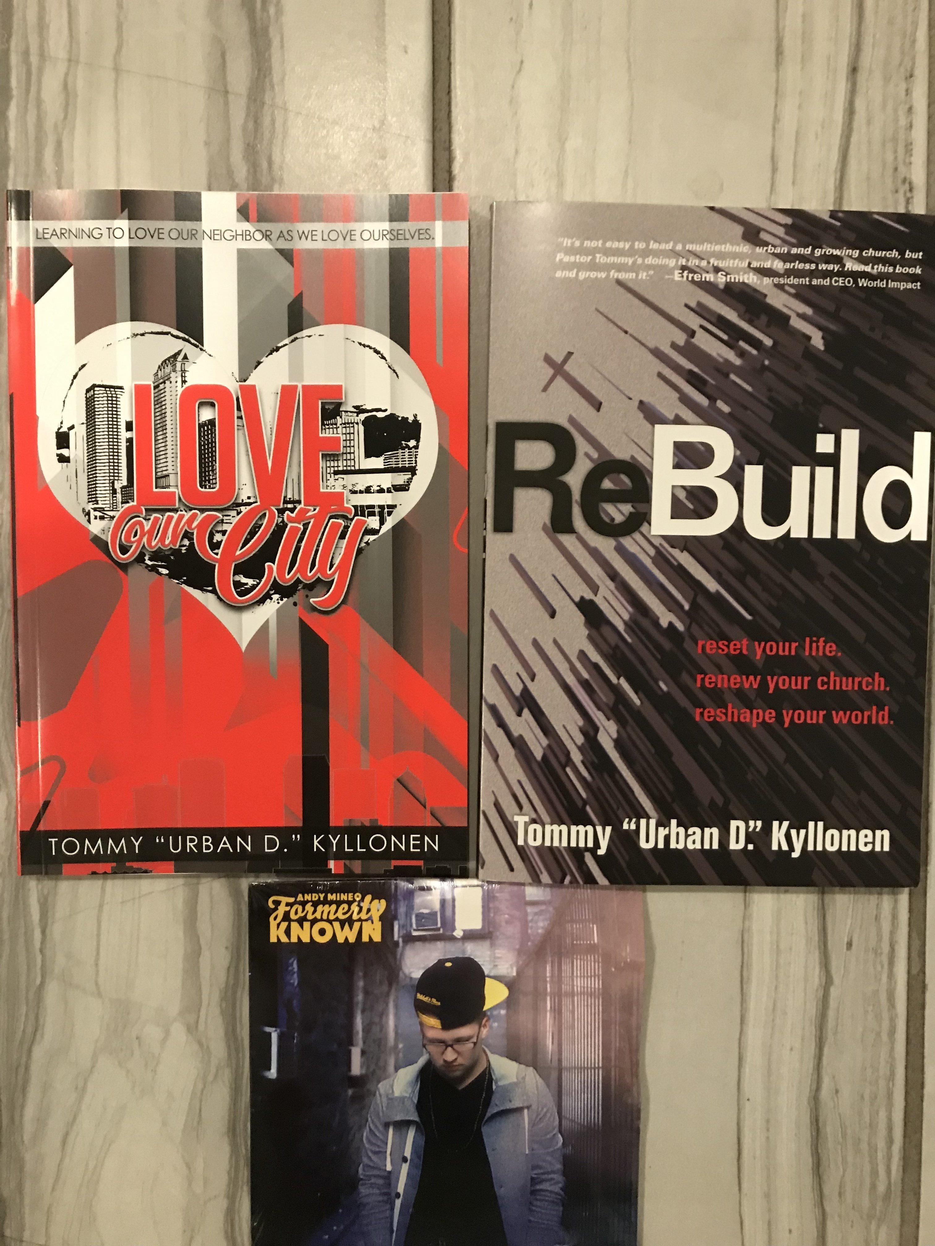 Love Our City, ReBuild & CD 20010