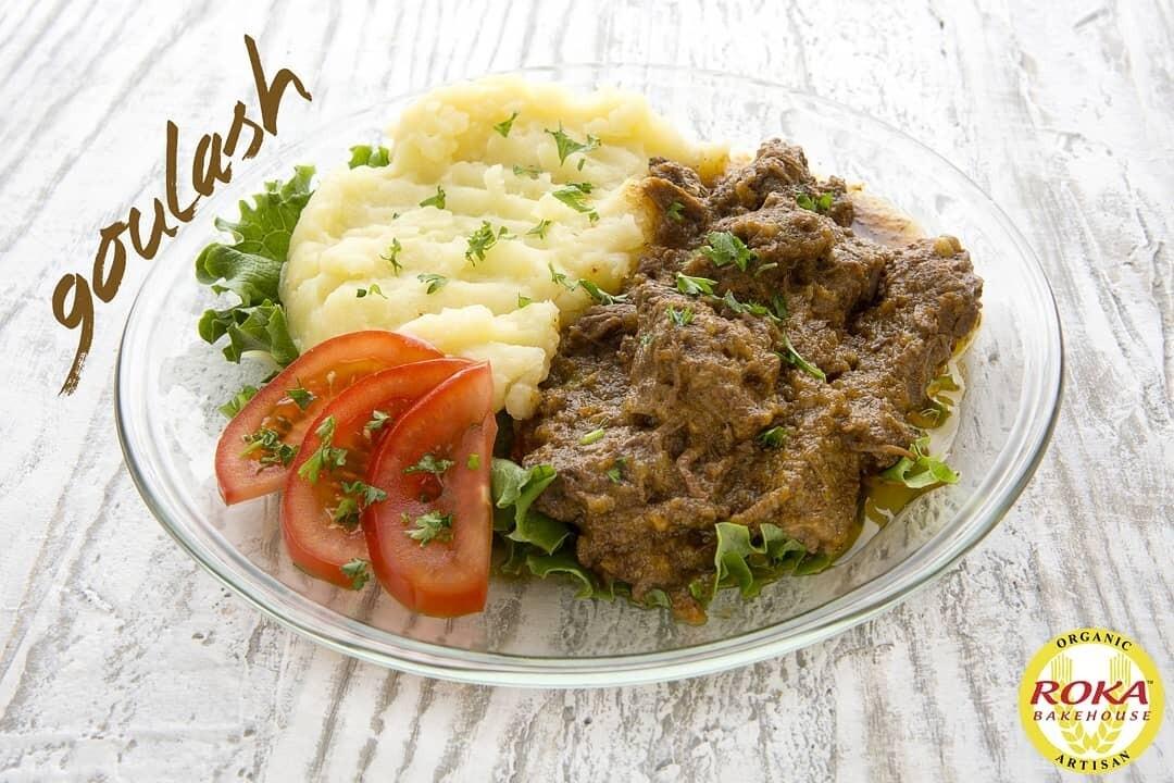 Goulash Mashed Potatoes/Bread