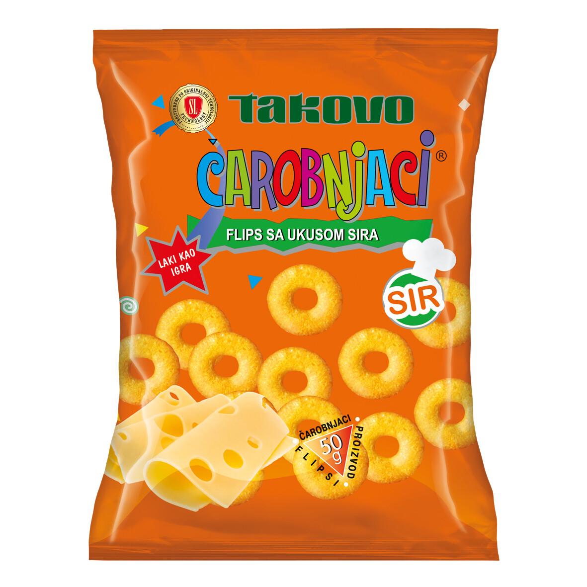 Takovo SL Carobnjaci Flips with Cheese 95gr