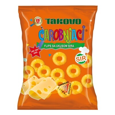 Takovo SL Carobnjaci Flips with Cheese 95gr