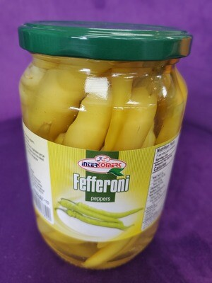 Feferoni peppers INTERKOMERC 650g