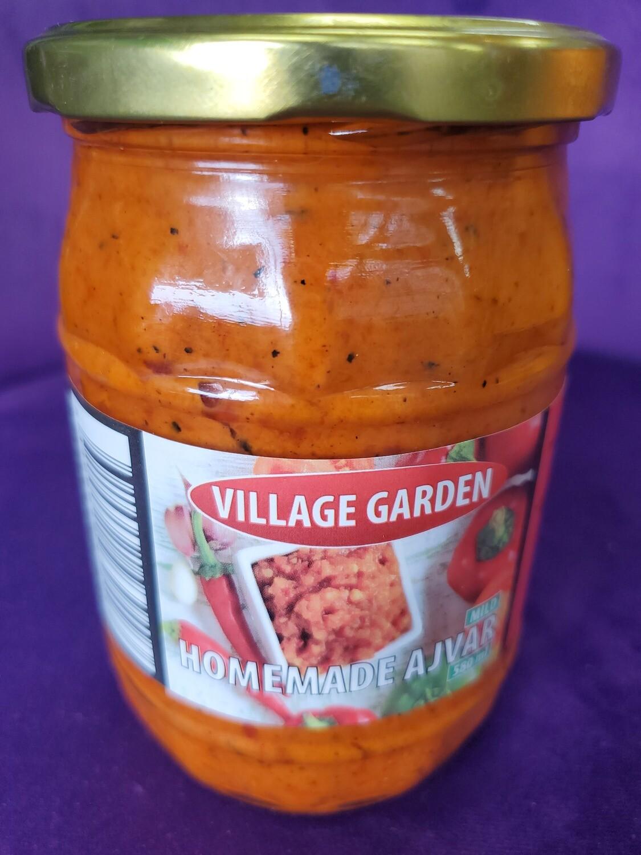 Ajvar Hot-Village Garden 580ml