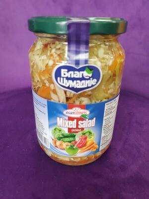 Mixed Salad pickled Interkomerc 720gr