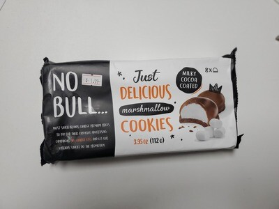 NO BULL Delicious Marshmallow Cookies 112 g