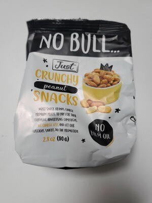 NO BULL Crunchy Peanut Snacks 80 g