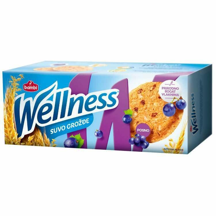 BAMBI Wellness Suvo Grozde 210 g
