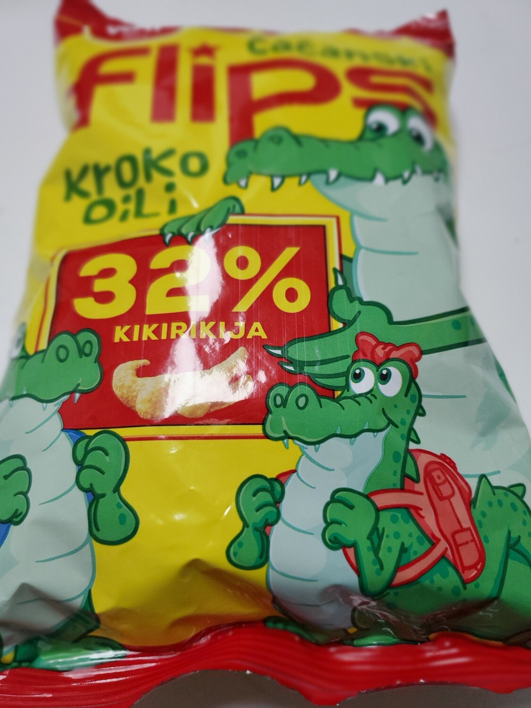 CHIPS WAY Cacanski flips krokodili 40g