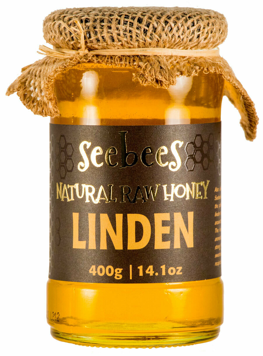 Seebees Linden (Lipa) Honey 400g