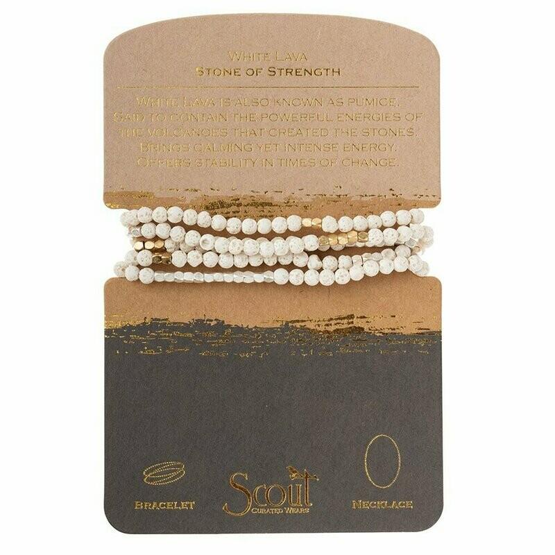 Stone Wrap - White Lava