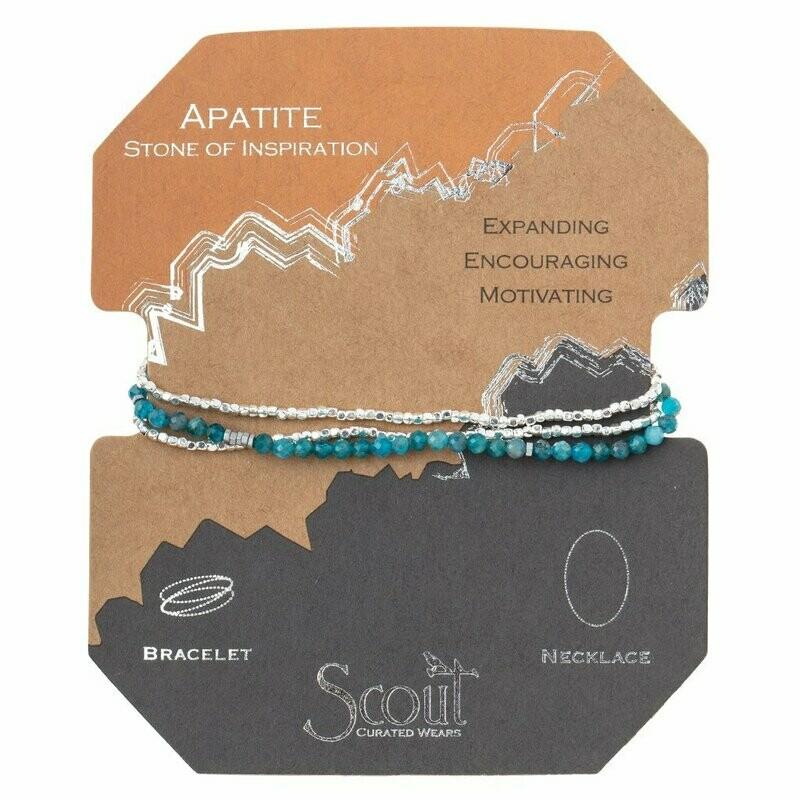 Delicate Stone Wrap - Apatite - Stone of Inspiration