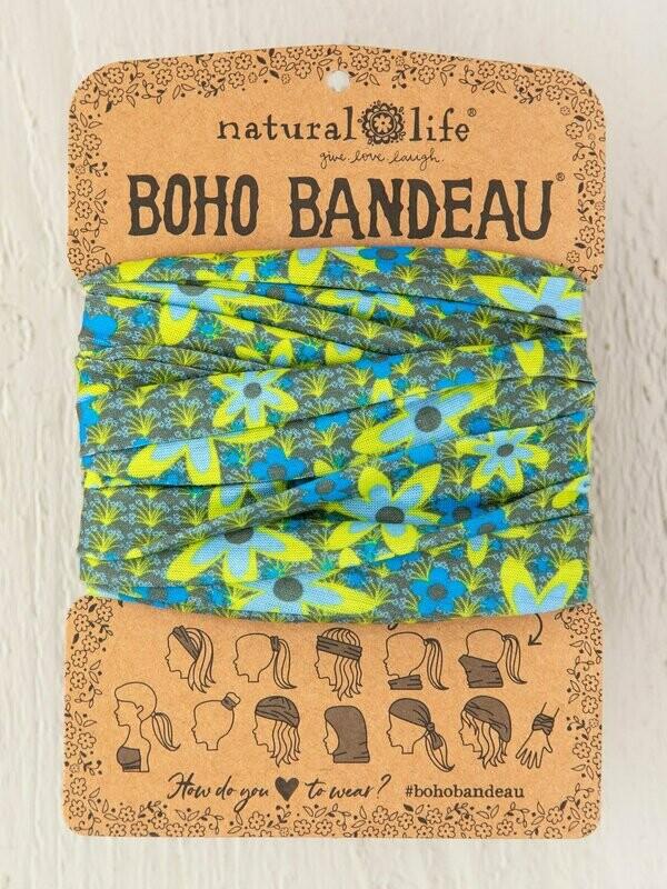 Blue And Green Boho Bandeau