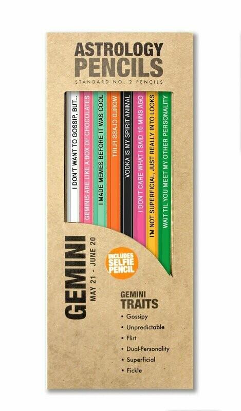 Gemini Pencils