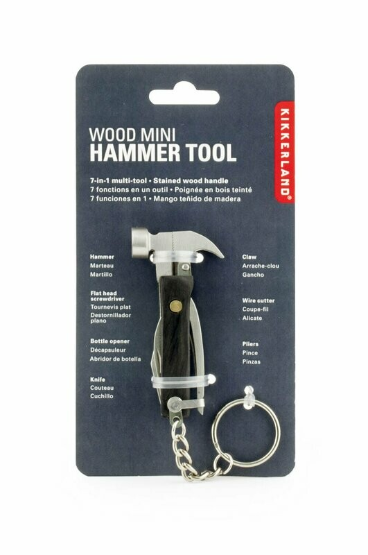 Wood Mini Hammer Tool Black